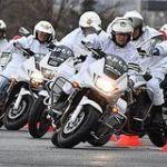 青森県警交通機動隊合同訓練 白バイ出動OK