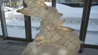 ねぶたの技法でアート作品 青森市内28カ所で展示