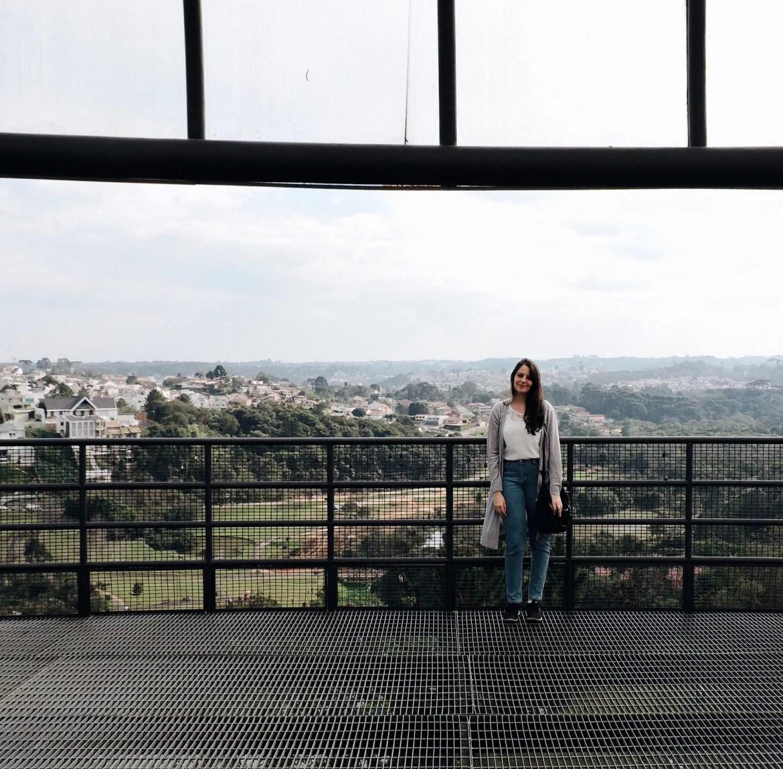 Vista do Mirante do Parque Tanguá