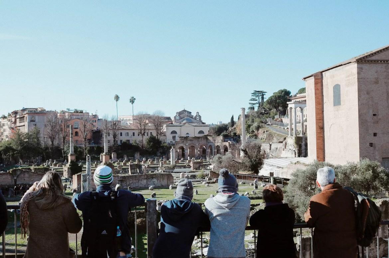 Nossa família em Roma