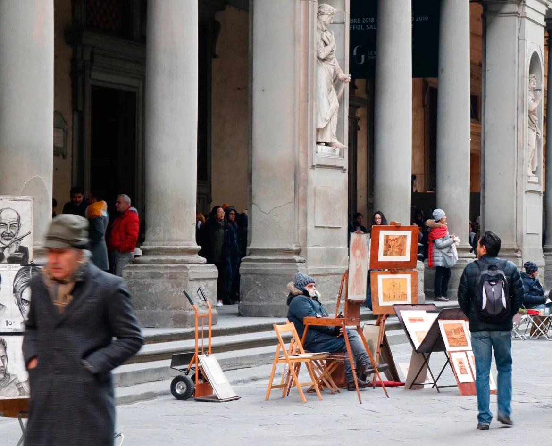 artistas e pintores