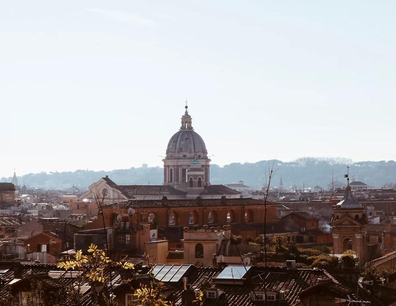 A Villa Borghese e a Piazza del Popolo - flanando em Roma