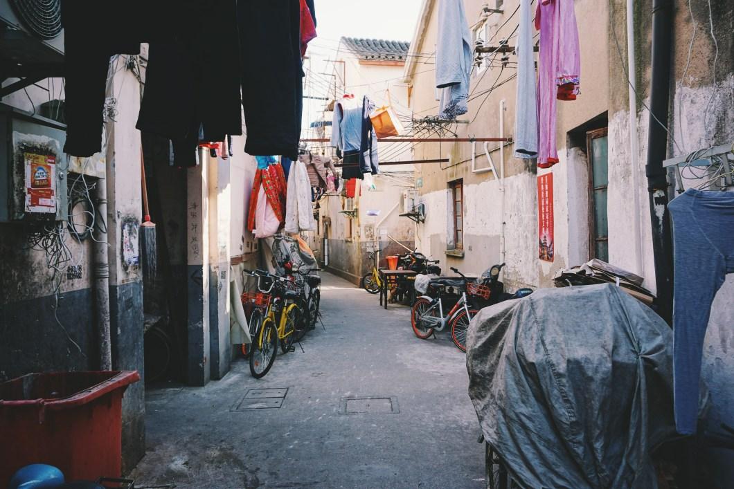 les vieilles rues de chine