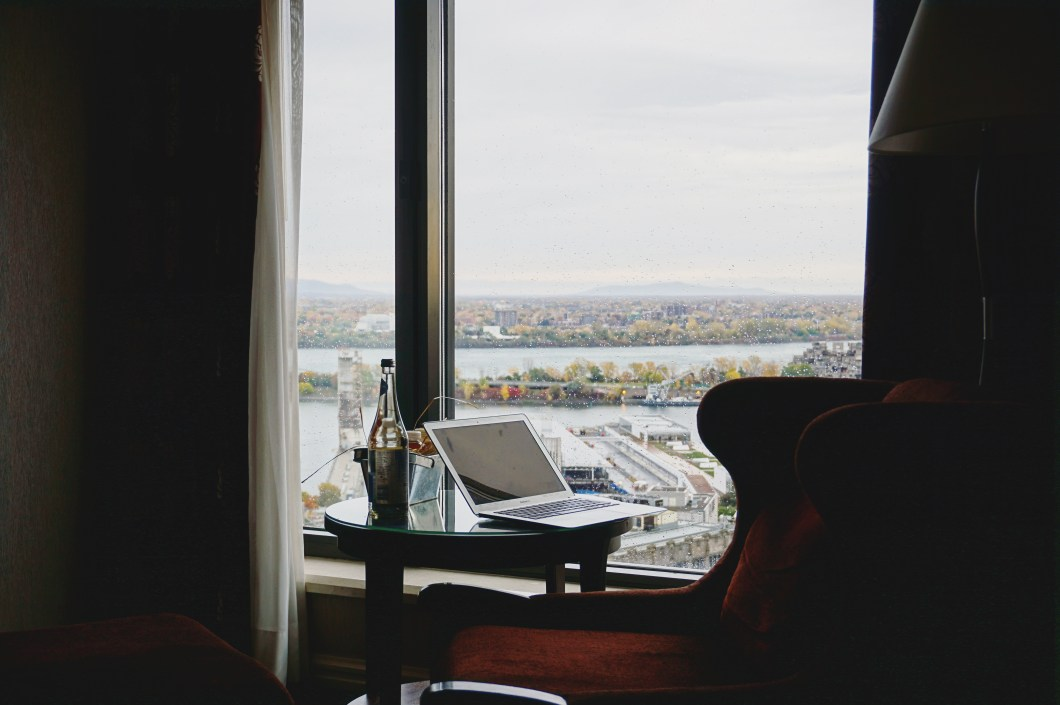 View from Intercontinental Montreal