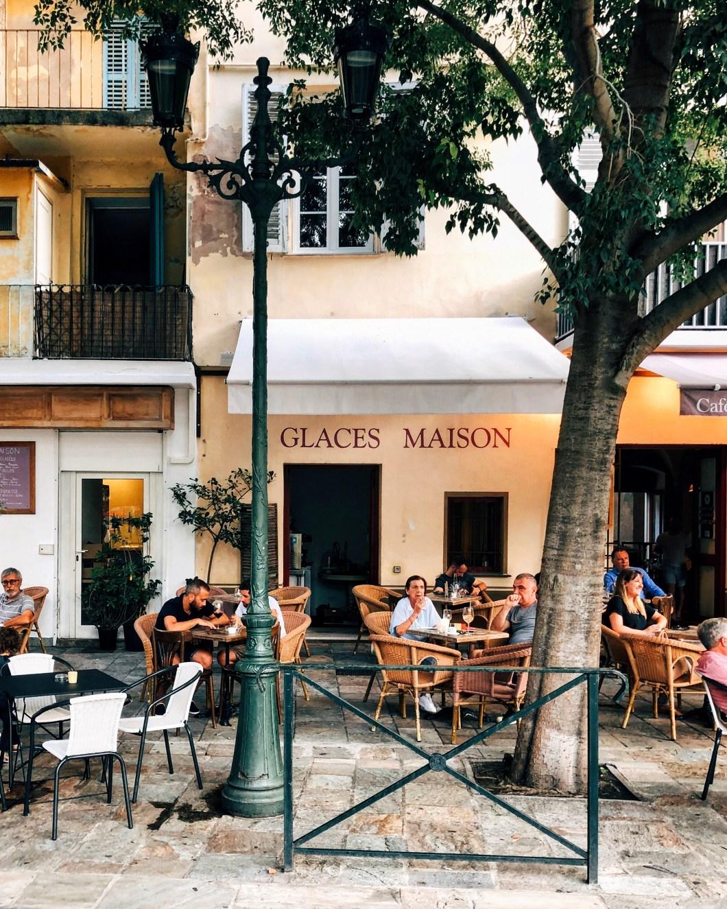 Old town Bastia