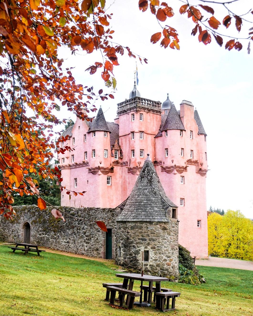 The prettiest castle in Scotland