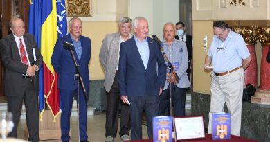 """Historic moment for AORR: book launch for """"Romanian Reserve Officers Association (AORR) – strong, active, responsible"""""""