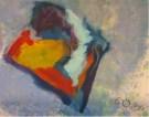 Roman Irresberger, Acryl auf Leinen, 100x100 cm, Ohne Titel