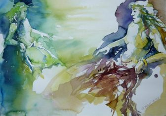 Aquarelle, Künstlerin, Art On Screen - News - [AOS] Magazine