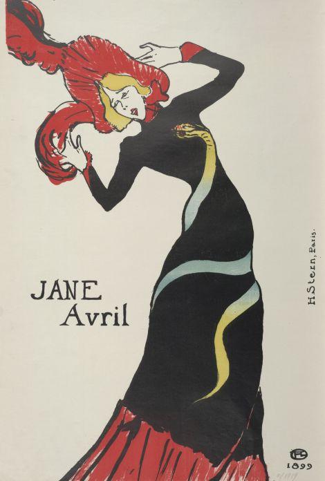 Henri de Toulouse-Lautrec, Jane Avril, 1899 © Albertina, Wien