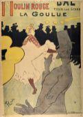 Henri de Toulouse-Lautrec, Moulin Rouge – La Goulue, 1891 © Albertina, Wien