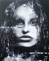 Martin Georg Sonnleitner, Untiteld woman II, 2010, 80 x 60 cm, Öl-Leinwand, Realism 2, [AOS] Magazine