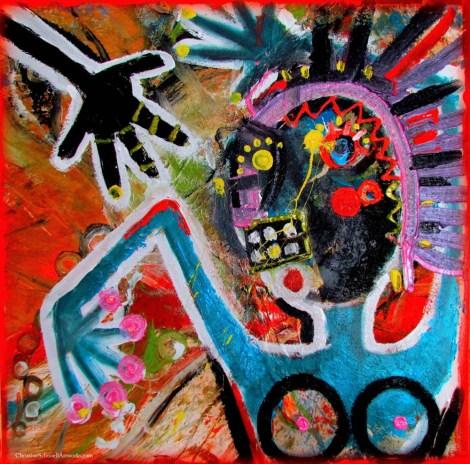 Christine Schnoell Artworks, Art On Screen - NEWS - [AOS] Magazine