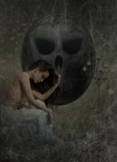 Anna Spiakowska - Onurah: Longing for Edward, Digital Art, Foto Manipulation, Art On Screen - [AOS} Magazine
