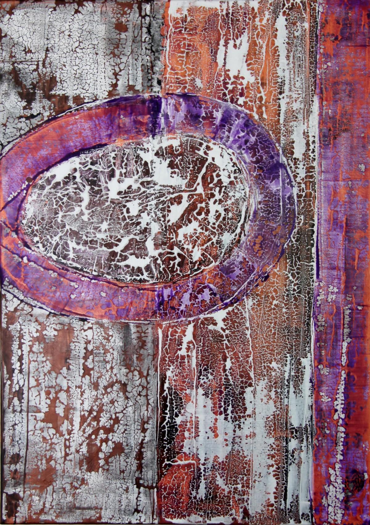 Sascha Weinberg: Fragilitas2, 50x70x1,8cm, Acryl auf Leinwand, Mischtechnik,2015   Art On Screen - [AOS] Magazine - NEWS