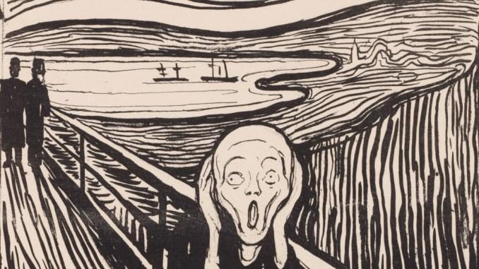 Edvard Munch Der Schrei, 1895 Privatsammlung Courtesy Galleri K, Oslo © Reto Rodolfo Pedrini, Zürich