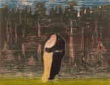 Edvard Munch Zum Wald II, 1915 Privatsammlung © Reto Rodolfo Pedrini, Zürich