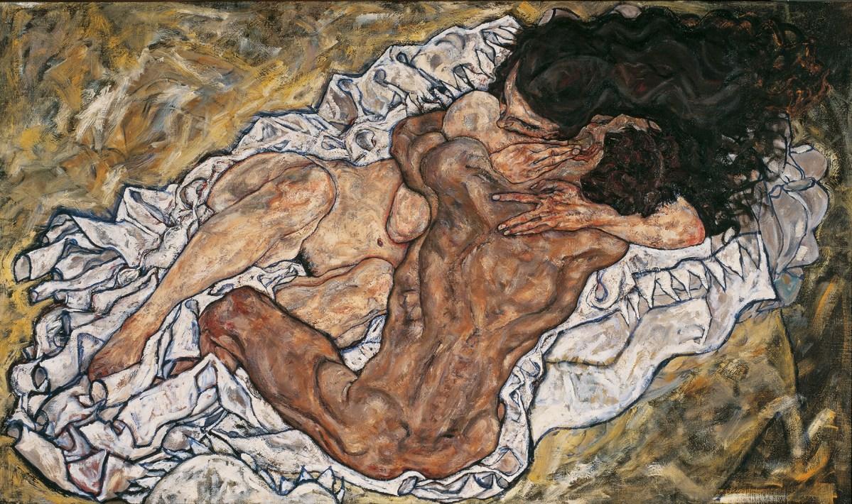 Klimt/Schiele/Kokoschka und die Frauen im Belvedere in Wien...