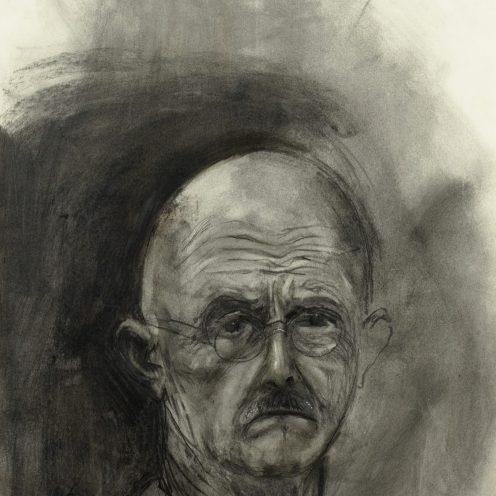Jim Dine Selbstporträt