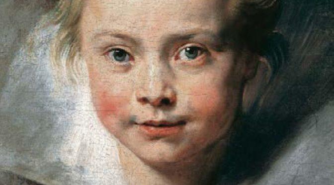 Peter Paul Rubens – Porträt der Clara Serena Rubens
