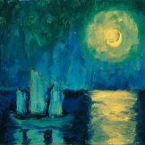 Monet bis Picasso, Die Sammlung Batliner, Emil Nolde, Mondnacht,