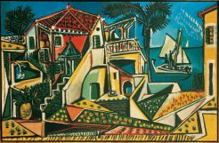 Die Sammlung Baltliner in der Albertina, Pablo Picasso, Mittelmeerlandschaft,
