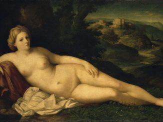 Poesie der venezianischen Malerei, JACOPO PALMA IL VECCHIO, Ruhende Venus, Art On Screen - News - [AOS] Magazine