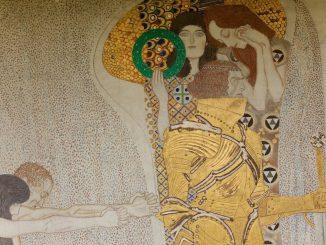 Diesen Kuss der ganzen Welt. Gustav Klimt (1862-1918) war einer der bekanntesten Vertreter des Wiener Jugendstils und Präsident der Wiener Secession, Art On Screen - News - [AOS] Magazine