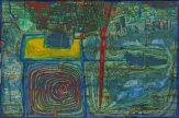 Meisterwerke der Sammlung Essl, Friedensreich Hundertwasser, Sonne für die, die auf dem Lande weinen, Albertina Wien