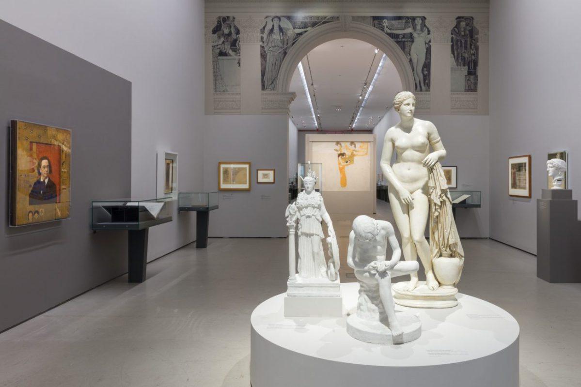 Gustav Klimt und die Antike - Erotische Begegnungen