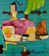 Peter Saul, amerikanischer pop art maler, Peter Saul Maler, Werke von Peter Saul