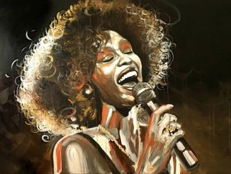 Can I Be Me, Whitney Houston, © by noellA., Christine Schnoell Artworks