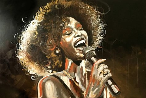 Can I Be Me, Whitney Houston, © noellA., Christine Schnoell Artworks, Art On Screen - NEWS - [AOS] Magazine