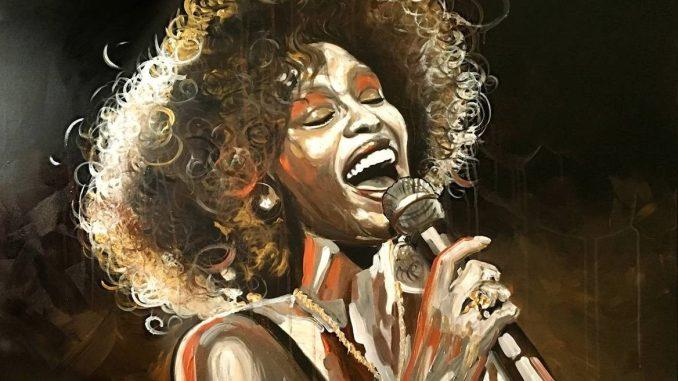 Can I Be Me, Whitney Houston, © by noellA., Christine Schnoell Artworks