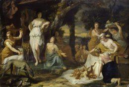 Die Geburt des Kunstmarktes, Gerard de Lairesse, Jagdbeute der Diana, Ausstellung im Bucerius Kunst Forum