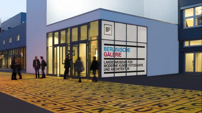 Berlinische Galerie, Landesmuseum für Moderne Kunst, Buchstabenfeld mit Künstlernamen, Art On Screen - NEWS - [AOS] Magazine
