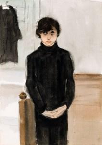 Jeanne Mammen, o. T. (Selbstbildnis), Berlinische Galerie, Landesmuseumfür Moderne Kunst, Fotografie und Architektur