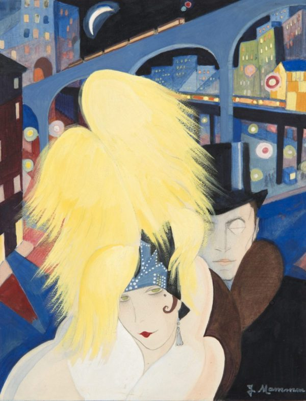 Jeanne Mammen, Die Großstadt, Art On Screen - NEWS - [AOS] Magazine