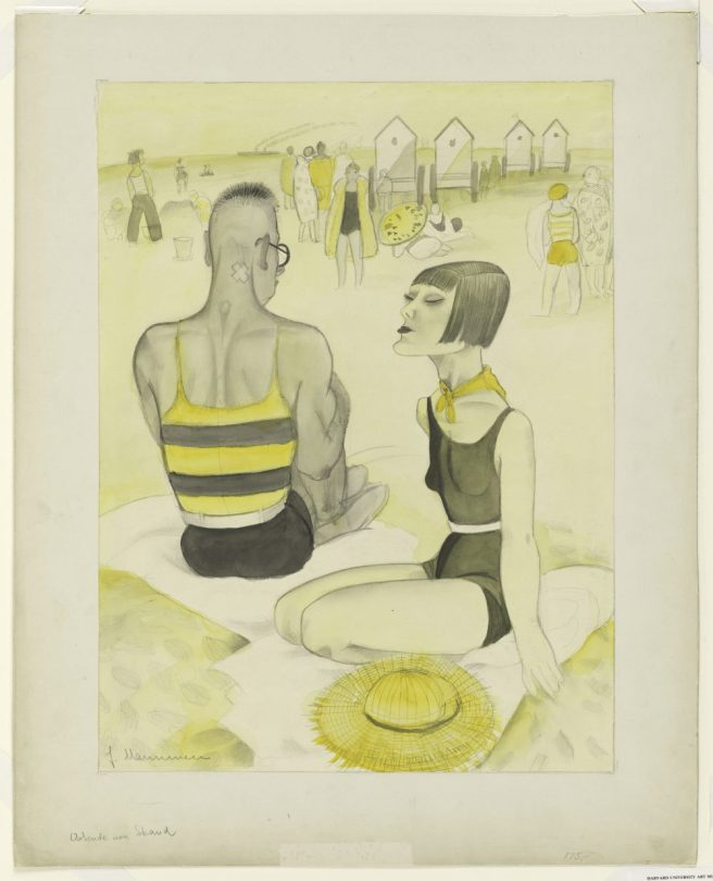 Jeanne Mammen, Ostende, Art On Screen - NEWS - [AOS] Magazine