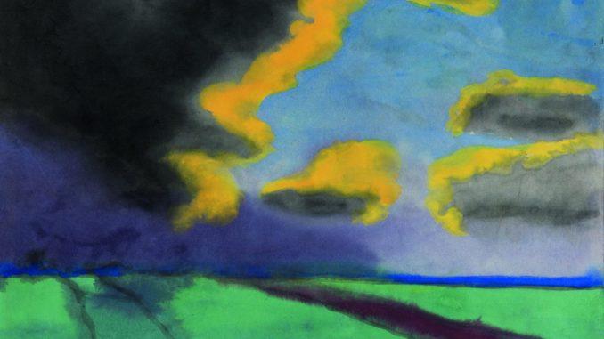 Gurlitt Ausstellung - Das Kunstmuseum Bern, Emil Nolde, Weite Landschaft mit Wolken, Art On Screen - News - [AOS] Magazine