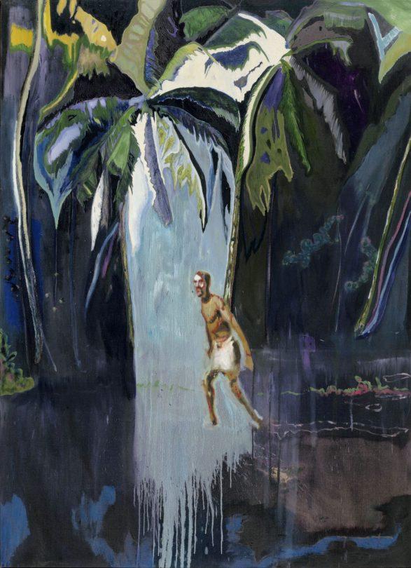 PETER DOIG, PELICAN (STAG), 2004, Öl auf Leinwand, 276 x 200,5 cm, Privatsammlung, Art On Screen - News - [AOS] Magazine