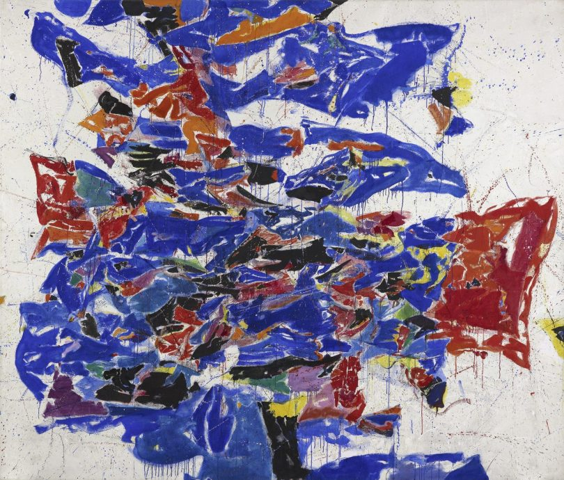 SAM FRANCIS, ROUND THE WORLD, 1958-59, Öl auf Leinwand, 276,5 x 321,5 cm, Fondation Beyeler, Art On Screen - News - [AOS] Magazine