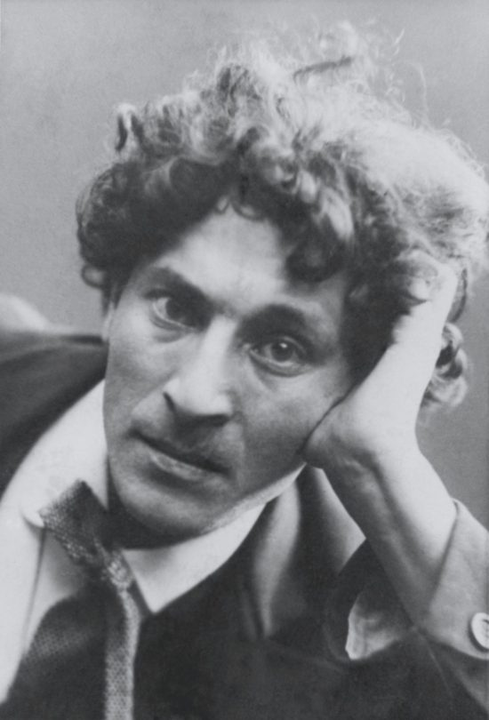 Marc Chagall, Ausstellung in Basel, um 1910/1911 © Archives Marc et Ida Chagall, Art On Screen - News - [AOS] Magazine