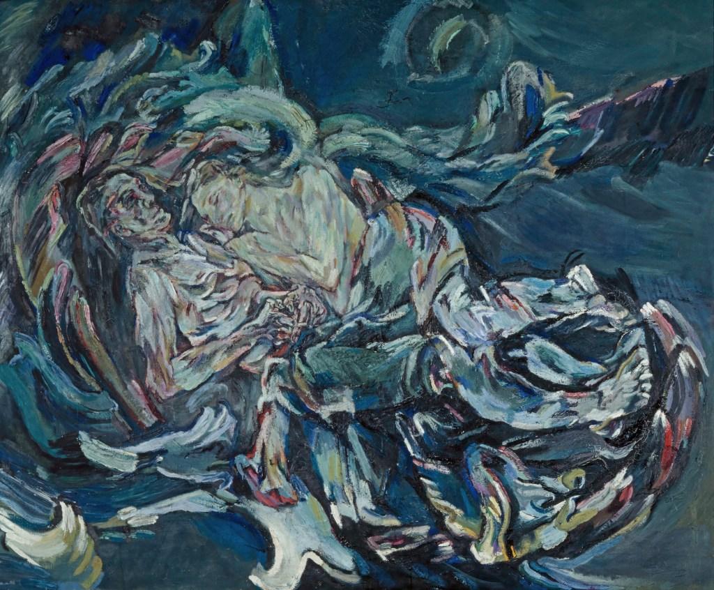 Kunstmuseum Basel, Oskar Kokoschka, Die Windsbraut, 1913, Alma Mahler, Kokoschka Gemälde,