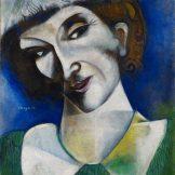 Mark Chagall, Selbstbildnis,Ausstellung Chagall, Das Frühwerk Chagall, Kunstmuseum Basel