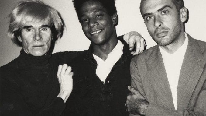 Basquiat. Boom for Real, Andy Warhol, Jean-Michel Basquiat and Francesco Clemente, Art On Screen - News - [AOS] Magazine