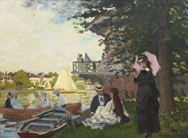 Claude Monet - Der Landesteg, 1871, Art On Screen - NEWS - [AOS] Magazine
