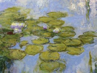 Claude Monet - Seerosen, 1916-1919, Art On Screen - NEWS - [AOS] Magazine
