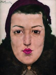 Lotte Laserstein, Von Angesicht zu Angesicht. Lotte Laserstein, Russisches Mädchen, Art On Screen - NEWS - [AOS] Magazine