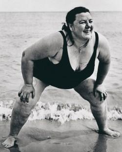Model Arbus Goldin, Lisette Model, Coney Island Bather, New York City 1939 © Estate of Lisette Model